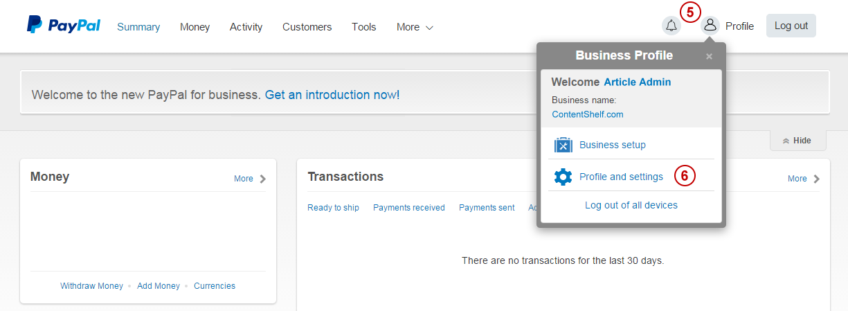 PayPal Payments Pro Payment Processing
