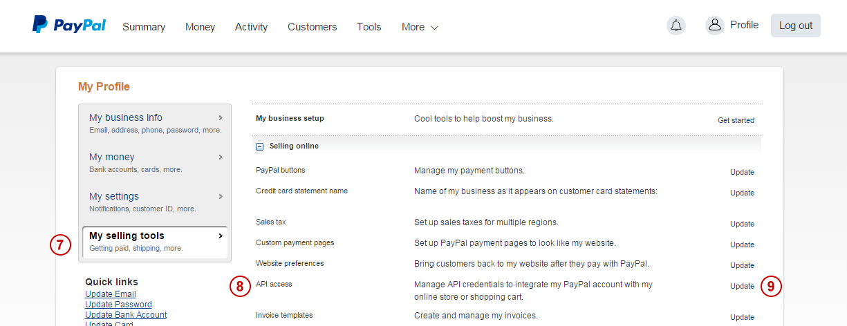 PayPal Payments Pro Payment Processing - Create an invoice on paypal hallmark store online